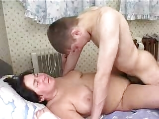 Granny with Son